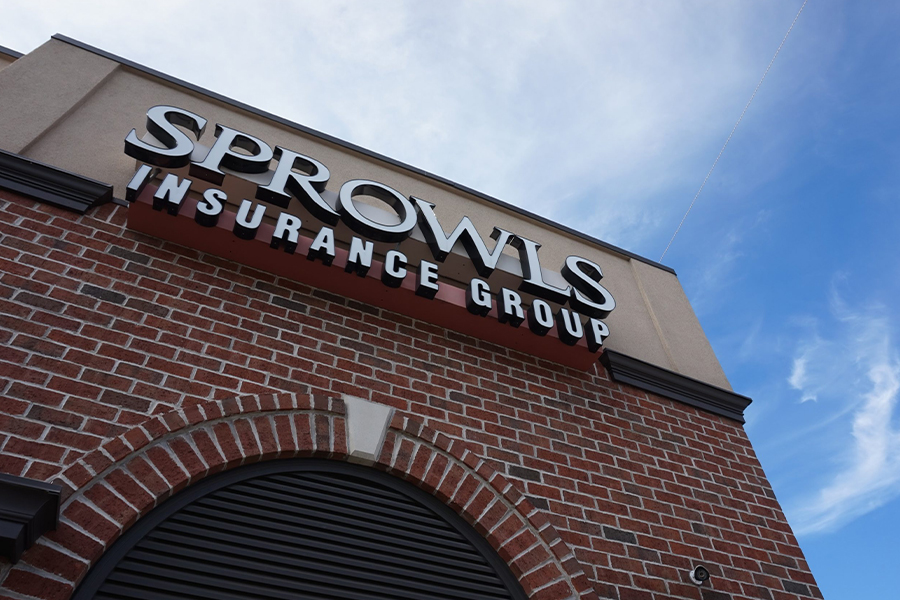 About Our Agency - Closeup Angled View of Sprowls Insurance Group
